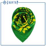 Kundenspezifischer Firmenzeichen-Entwurfs-Digital gedruckter Silk Schal