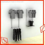 Estante de visualización del montaje de la pared para la ropa