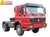 HOWO 371HP 4X4販売のためのAll-Wheel駆動機構のトラクターのトラック