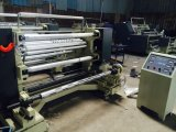 Tipo vertical el rajar plástico de la película de los PP OPP del PE y máquina de Rewinder (DC-QFJ100-1300)
