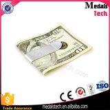 Clip moderna dei soldi di figura dell'ordinanza dell'acciaio inossidabile di stile di modo con il nome del laser