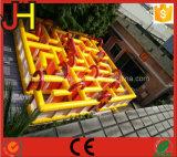 Labirinto gonfiabile di alta qualità per il gioco esterno