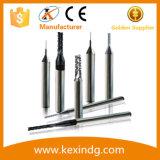 La rigidité maximisée a conçu les morceaux de foret inclinés par carbure solide de tungstène