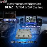 Surface adjacente de vue arrière et de panorama 360 pour Mercedes-Benz avec Ntg-4.5 l'écran de moulage d'entrée de signal du système Lvds RVB