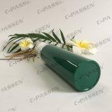 化粧品の包装のための明確な帽子が付いている緑のプラスチックPP空気のないびん(PPC-PAB-036)