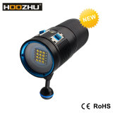 Video indicatore luminoso di nuova immersione subacquea di Hoozhu V72 con tre indicatori luminosi 7200 massimi Lm e Watrproof 100m di colore