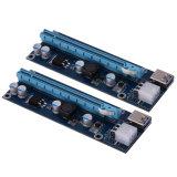 第9 Bitcoin抗夫のマザーボード、Pcie 1X - 16XアダプターのためのGen. Btcの暴徒のカード、16変換のカードへのPCI-E PCI明白なPcie 1X