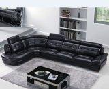 [توب قوليتي] حديثة يعيش غرفة جلد أريكة ([هإكس-سن018])