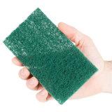 Almofada de limpeza de uso geral verde
