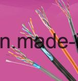 Ftp blindado hoja Cat5e (4 pares) del cable de LAN de la alta calidad del precio bajo