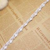 Breiten-Stickerei-Nylonspitze-Polyester-Stickerei-Zutat-Fantasie-Spitze des Fabrik-auf lager Großverkauf-1.5cm für Kleid-Zusatzgerät u. Hauptgewebe u. Vorhänge
