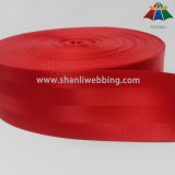 Tessitura di nylon rossa della cintura di sicurezza da 2.5 pollici