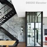 別荘の上昇の小さいホームガラス持ち上げ装置の家のエレベーター