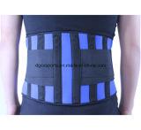 Cinta lombar da cintura do neopreno com sustentação plástica da barra