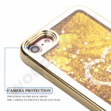 Caisse liquide transparente de sable mouvant et d'étoile de scintillement du plastique 3D pour l'expert en logiciel 5s de l'iPhone 5