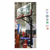 Höhen-steht justierbarer im Freienkorb-Kugel-Basketball für Jüngeres