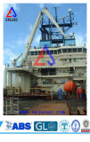 Кран горячего заграждения костяшки сбывания 50t 100t Semi оффшорный морской