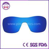 En polarizzata dell'ANSI degli obiettivi degli occhiali di protezione come passata per l'impianto offshore