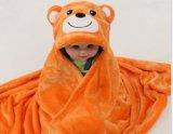 Ребенка полотенца ванны друзей Luvable полотенце Bamboo с капюшоном