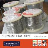 Alambre de la aleación del alambre Nicr8020 del cromo del níquel