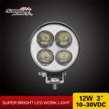A melhor venda em volta de 3 '' lâmpadas do trabalho do diodo emissor de luz 12W auto para caminhões