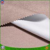 Tissu franc imperméable à l'eau de polyester de tissu tissé par textile à la maison s'assemblant le tissu d'arrêt total pour le rideau