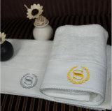 ホテル水吸収性綿の浴室/表面タオル