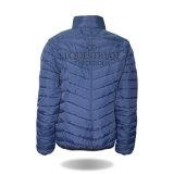 Großhandelsfrauen-Form kleidet blaue im Freien aufgefüllte Winter-Umhüllungen