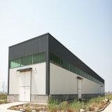 Edificio de acero ligero del panel de emparedado del fuego de la estructura de acero