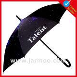 선전용 광고 똑바른 골프 우산을 인쇄하는 관례