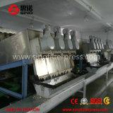 Deshidratador horizontal del lodo de la prensa de filtro de tornillo para el tratamiento de aguas residuales