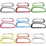 Couverture protégée UV matérielle de lampe de Head&Rear de type de couleur verte ABS de tout neuf pour le membre d'un club F54 (4PCS/Set) de Mini Cooper
