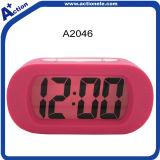 Часы календара сигнала тревоги цифров с касанием кремния