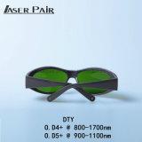 De veiligheidsbrillen van het Oog van de Beschermende brillen van de Veiligheid van de laser voor de Veiligheidsbrillen van de Laser van de Bril van de Veiligheid van de Laser van 8001700nm voor OEM de Diode van de Laser van de Golflengte