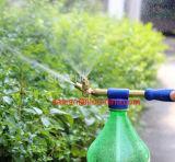 Pulverizador de bronze do jardim da água da bomba de mão do bocal gêmeo de Ilot