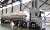 38 Cbm Aluminiumlegierung-Kraftstoff-Tanker-halb Schlussteil