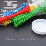 Uno mismo plástico que bloquea las ataduras de cables de nylon con aprobado ULTRAVIOLETA