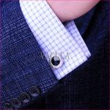 A qualidade super de VAGULA Cuffs os botão de punho Opal 389 de Gemelos das ligações de punho do diamante