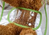 Le crabot de qualité vêtx l'imperméable non-toxique transparent d'animal familier de PVC