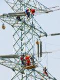 передающая линия стальная башня скрещивания реки 500kv пробки