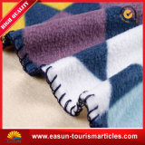 Fabrik-preiswerter Check-bewegliche Strand-Wolldecke, kampierende Zudecke