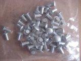 Sólido remaches de aluminio brasero cabeza del pote Pin