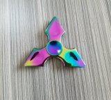 Fuoco sveglio Toy&#160 dello scrittorio del Tri-Filatore della mano stampata del filatore 3D di irrequietezza di EDC di disegno dell'orso del mini giocattolo;