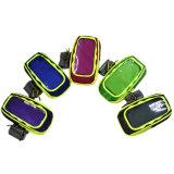 Sacchetto corrente della manopola del sacchetto del braccio di ginnastica di sport dello schermo attivabile al tatto per il iPhone