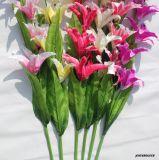 가정 결혼식 훈장을%s 실크 인공 꽃 가짜 백합