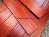 Suelo de madera del entarimado/de la madera dura de Mora de la abrasión anti de Manufactury de la fábrica