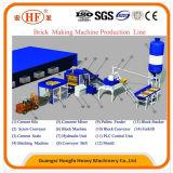 Machine de fabrication de brique concrète complètement automatique du quart 10-15 D