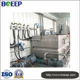 하수 처리 공장에 있는 콘테이너 진창 탈수 시스템