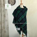 Signora Fashion Acrylic Square Scarf dello scialle del plaid del cachemire di alta qualità