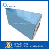 Мешок пылесоса голубой бумаги для модели Tc-Ns